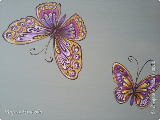 Фрагмент росписи: малышка Ева попросила пчелку))) фото 8