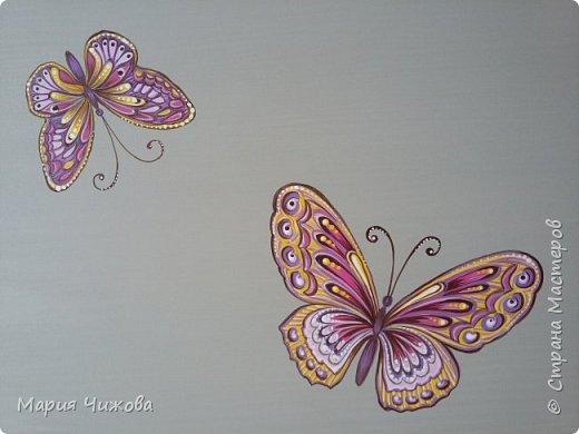 Фрагмент росписи: малышка Ева попросила пчелку))) фото 9