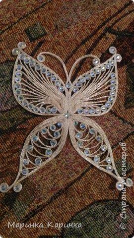 Заколка в бабочка. фото 2