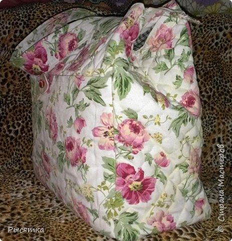 Сумка в подарок ... размер 40*40*20 см ...  ткань - хлопок  +  синтепон  фото 1