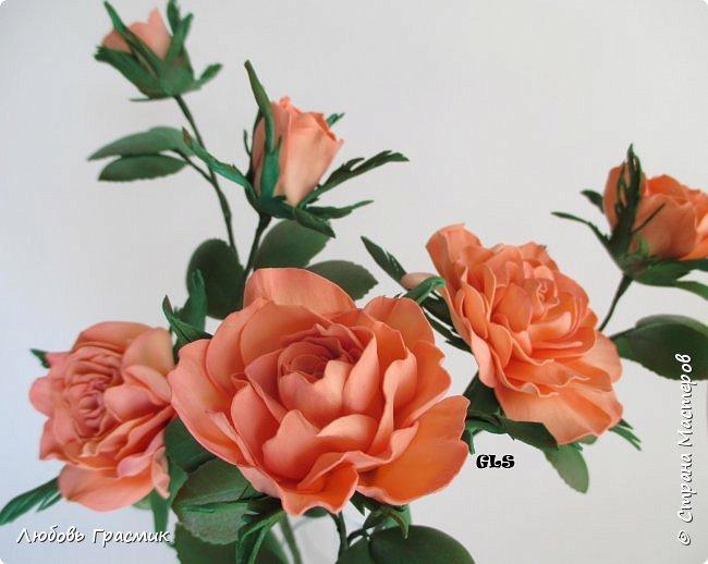 Розочки из китайского фома. Баночка фото 3
