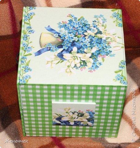 """Вчера вместе  с подарочком на день рождение я получила комодик по игре """"Желаю получить..."""" от katenok270676 http://stranamasterov.ru/user/172636 !Давайте вместе полюбуемся на это произведение искусства! фото 3"""