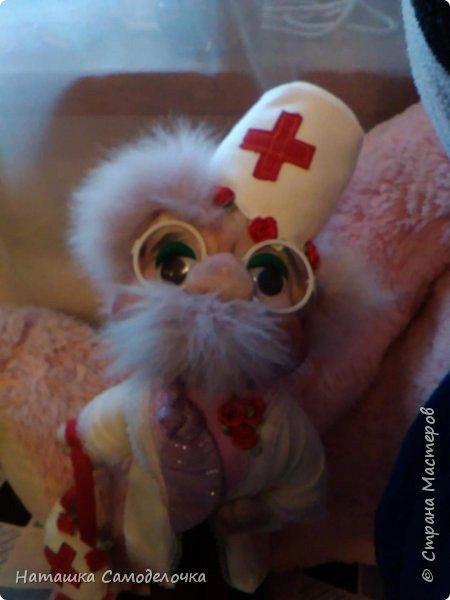 Всем привет,подруга приболела и вот такой профессор ей сделался)))))что бы больше не болела. фото 1