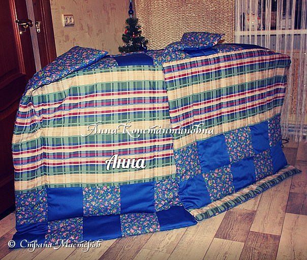 Одеяло для племяшек...  фото 2