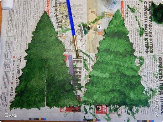 Всем привет :з Данный материал я не буду называть мастер-классом, так как это довольно распространенный метод изготовления кукольной елки. Думаю, он самый простой. Изначально я хотела сделать совершенно другую елочку, но у меня не оказалось дома подходящих материалов, но я думаю сделать ее ближе к Новому году, думаю, к тому времени у меня появятся все необходимые материалы х) фото 4