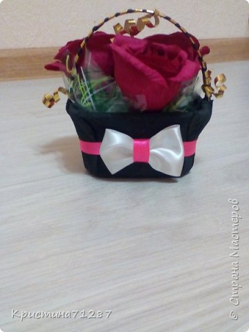 корзинка с розами фото 1