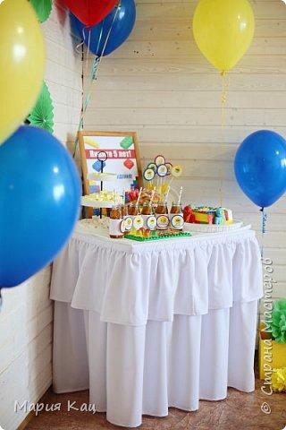 Поделюсь деталями сладкого стола на детском празднике, в стиле Lego. фото 4