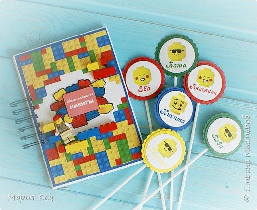 Поделюсь деталями сладкого стола на детском празднике, в стиле Lego. фото 6