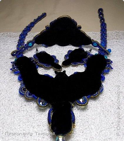 Собрала кристаллы,камушки ,бусинки синих оттенков фото 24