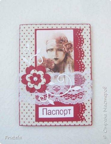 Обложки на паспорт. фото 1