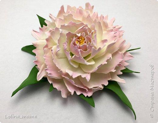 Цветы из фома фото 3
