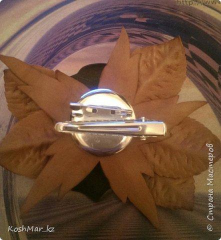 Роза - имитация под кожу на универсальном креплении (мой дебют :-)) фото 2