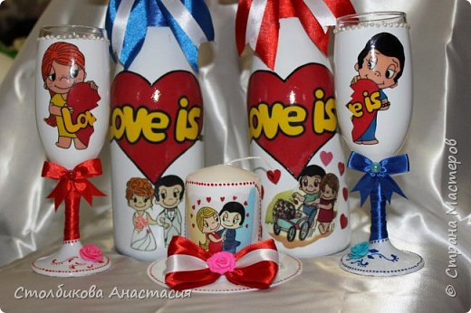 Разрешите похвастаться набором для тематической свадьбы. фото 6