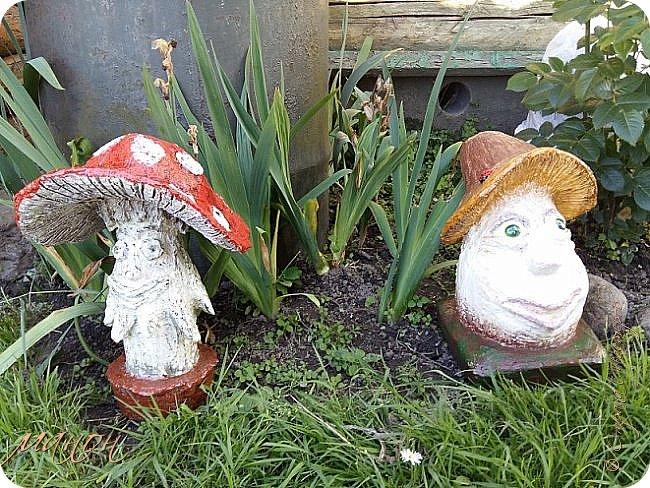 """Раз, два, три, четыре, пять! Я грибок иду искать.                                                                                                                                                                                                                   .Приветствую всех жителей СМ.Ох и замучили меня эти грибы,делать их не столько сложно, сколько долго,аж целых 6 штук.Только два себе оставила,остальные раздарила.грибы не боятся """"улицы"""".все три боровика получились разными фото 13"""