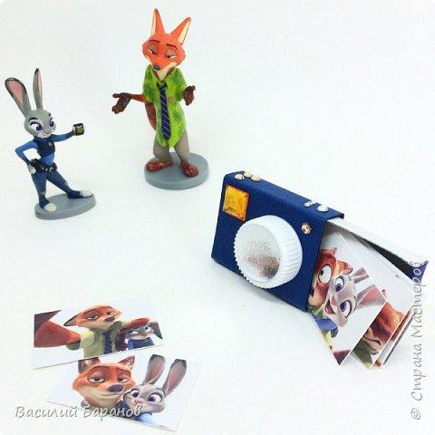 Упаковка для памятных снимков «Фотоаппарат»