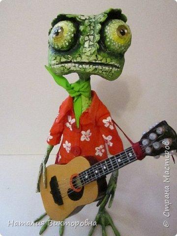 Заказали мальчику на день Рождения! (повтор работы) Гитара и шляпа -картон! фото 3