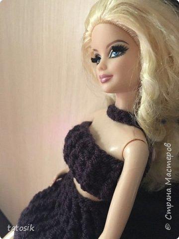 Платье для Barbie своими руками фото 13