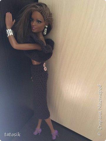 Платье для Barbie своими руками фото 18