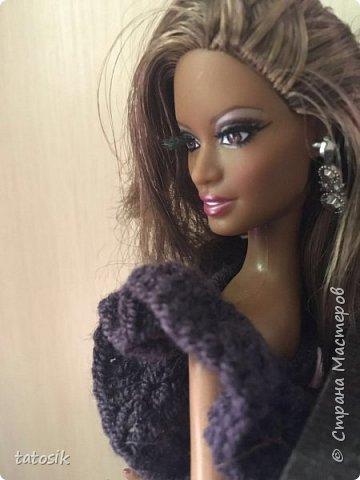 Платье для Barbie своими руками фото 20