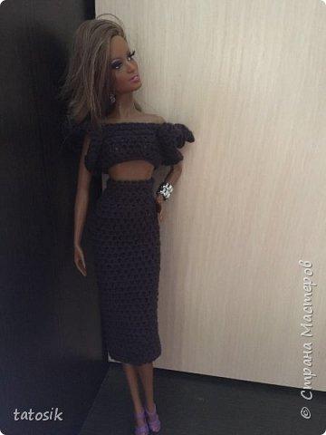 Платье для Barbie своими руками фото 21