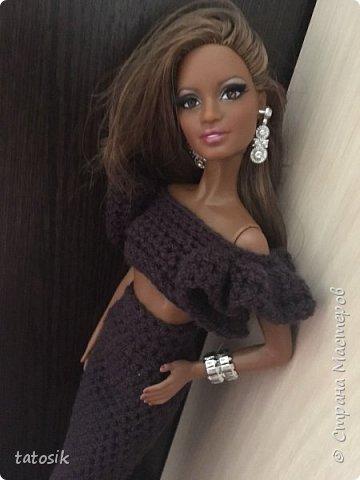 Платье для Barbie своими руками фото 22