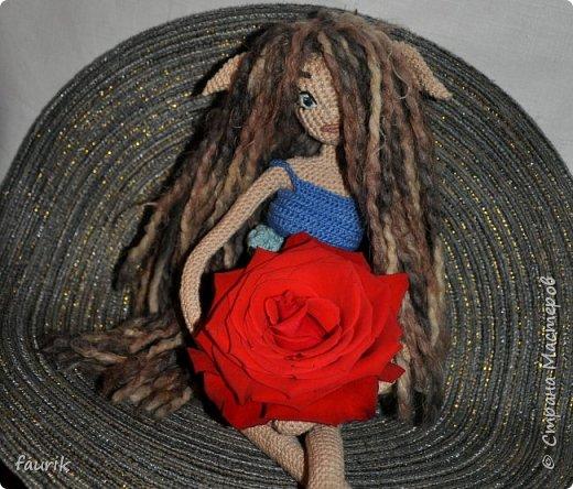 Недовязы этого лета, и старенькие куклы. фото 10