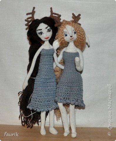 Недовязы этого лета, и старенькие куклы. фото 5