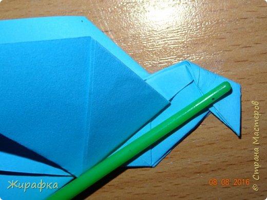 Вот такого голубя я предлагаю сделать вам вместе с детьми. фото 28