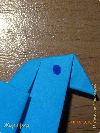 Вот такого голубя я предлагаю сделать вам вместе с детьми. фото 31