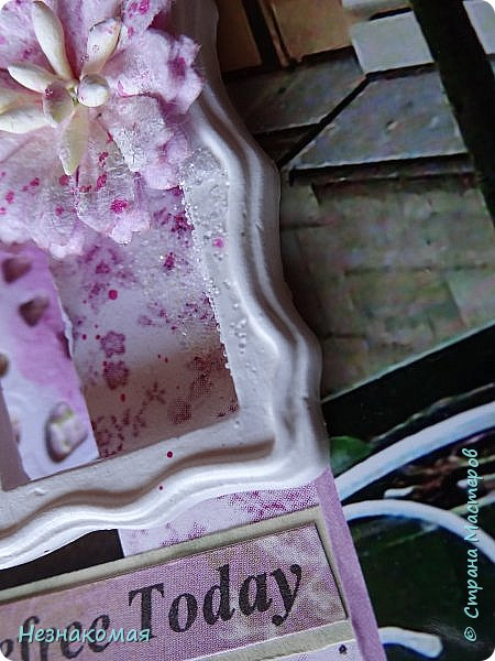 Всем доброго времени! Пока выдалась свободная минутка, решила загрузить холст который сделала пару месяцев назад в подарок Ане http://stranamasterov.ru/user/10927 .  фото 6