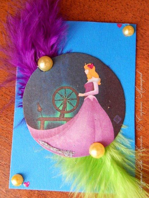 Приветствую жителей Страны Мастеров! Представляю Вашему вниманию серию карточек с принцессами Диснея. фото 3