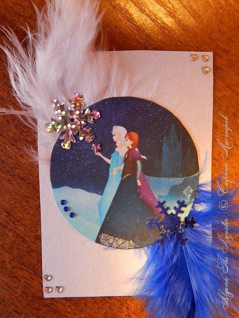 Приветствую жителей Страны Мастеров! Представляю Вашему вниманию серию карточек с принцессами Диснея. фото 4
