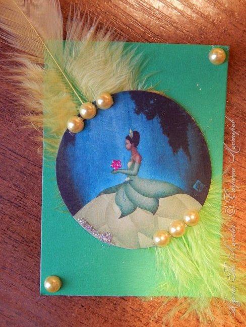 Приветствую жителей Страны Мастеров! Представляю Вашему вниманию серию карточек с принцессами Диснея. фото 5