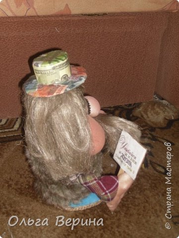 Домовятки в модных шляпках фото 4