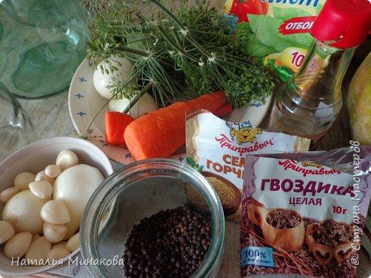 Хочу поделиться с жителями СМ рецептом заготовки овощей. По этому рецепту делаю маринады уже почти 30 лет. Можно консервировать отдельно огурцы, помидоры, а можно и овощное ассорти (помидоры+огурцы, помидоры+огурцы+арбузы,  помидоры+огурцы+арбузы+капуста). фото 4