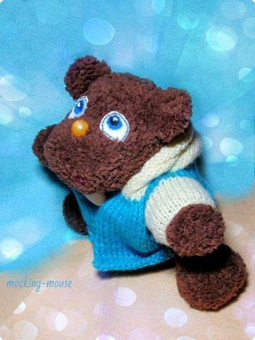 Маленький мишка амигуруми  фото 3