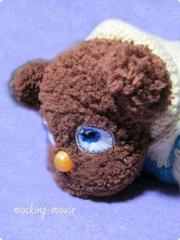 Маленький мишка амигуруми  фото 4
