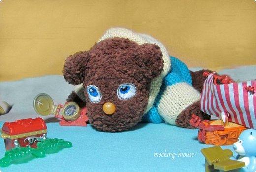 Маленький мишка амигуруми  фото 5