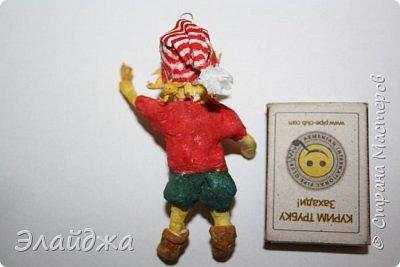Привет всем жителям СМ!Выношу на Ваш суд свою ватную игрушку на создание которой меня вдохновила замечательный мастер Симакова Оля http://stranamasterov.ru/user/390706. Её работами я всегда восхищалась, Спасибо Олечка за подробные МК ! фото 2