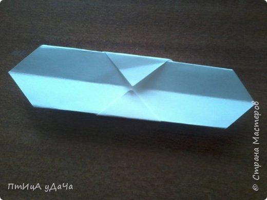 Я очень люблю придумывать оригами! Сегодня я расскажу вам как сделать вот такого пингвинёнка. фото 6