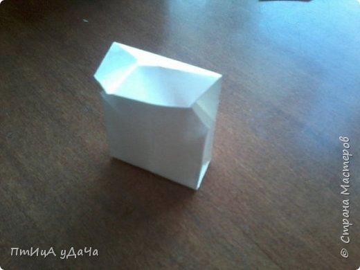 Я очень люблю придумывать оригами! Сегодня я расскажу вам как сделать вот такого пингвинёнка. фото 10