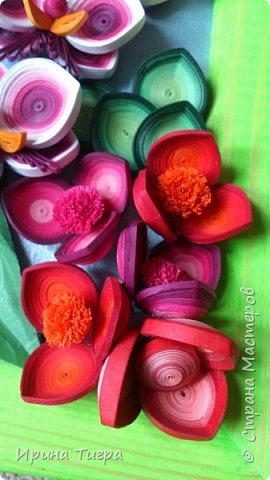 цветы сделаны из бумаги 3 мм и 1.5 мм фото 3