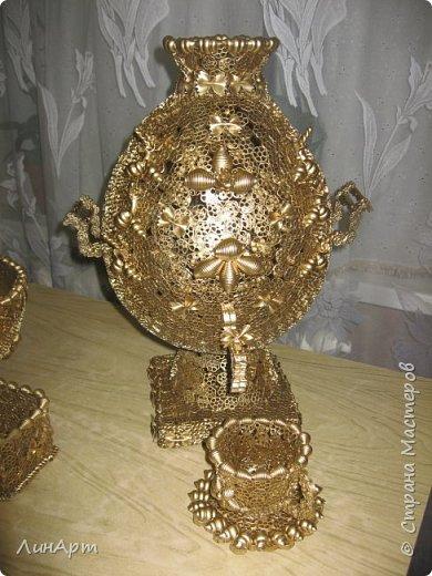 Декоративная поделка из макарон фото 5