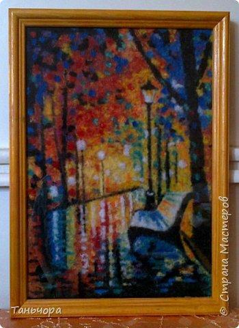 Осенние пейзажи - это невероятной красоты картины художника Леонида Афремова. фото 3
