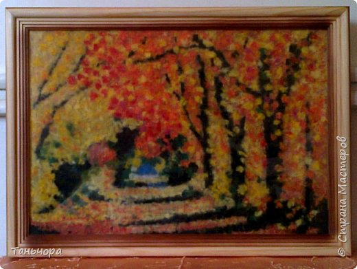 Осенние пейзажи - это невероятной красоты картины художника Леонида Афремова. фото 1