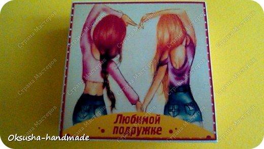 Шоколадный комплимент Любимой подружке фото 4