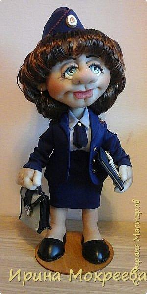 Здравствуйте жители страны мастеров,выношу на ваш суд свою новую куклу. фото 1