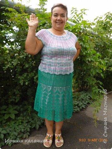и опять здравствуйте! теперь моя обновка. юбка многофункциональная! заинтриговала? смотрим! фото 8