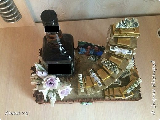 Подарок на годовщину, лестница успеха фото 3