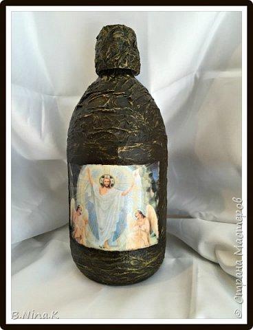 Приветствую всех Мастеров и Мастериц - жителей Страны. Сегодня я с новыми бутылочками. Наконец то и я сделала денежную бутылочку. Это подарок другу. фото 8